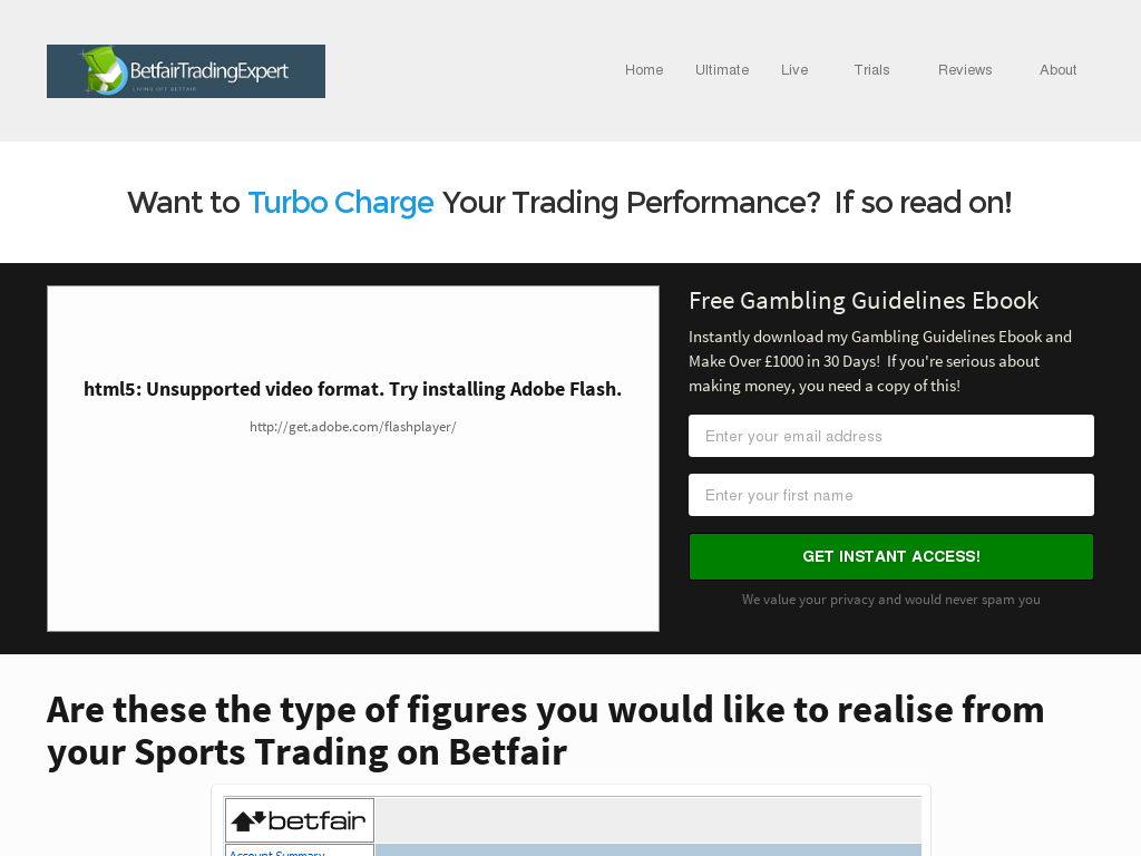 Betfair Trading Expert - 4 Systems For 1 Price - Great Conversions