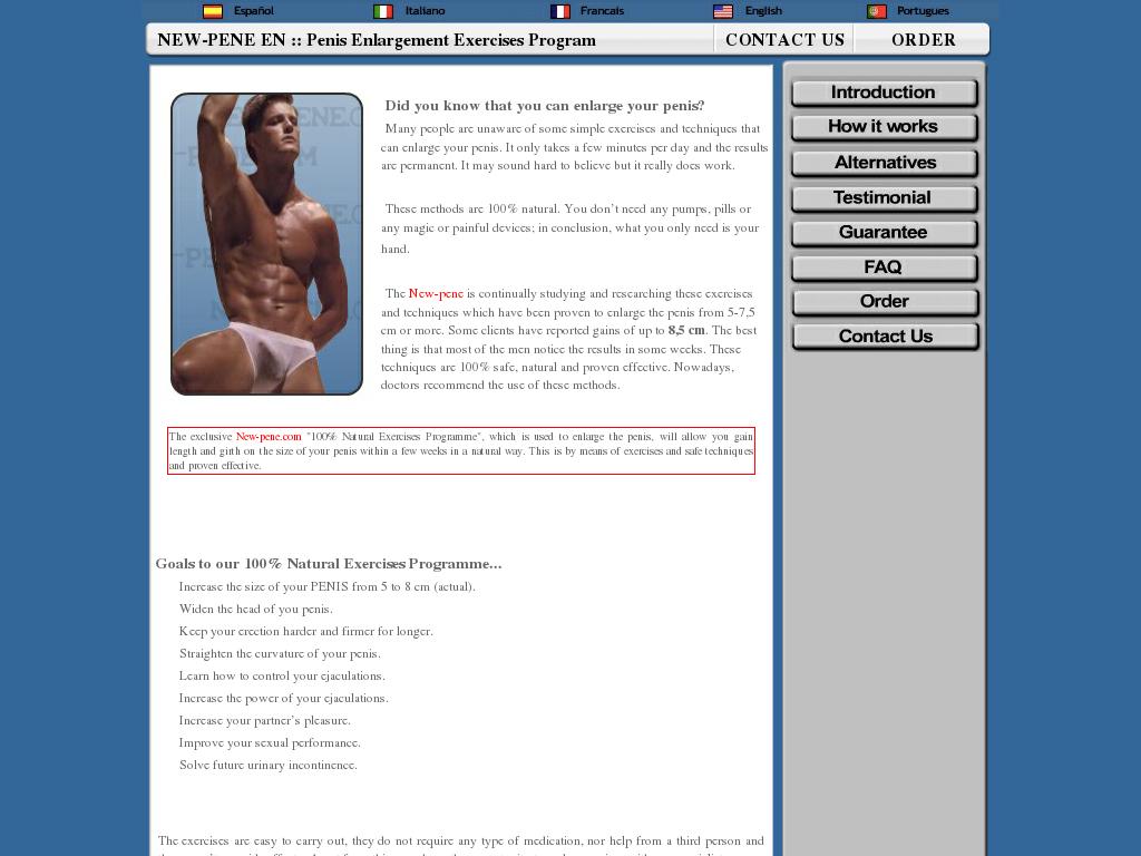 Download Free Penis Enlargement Exercise Guide