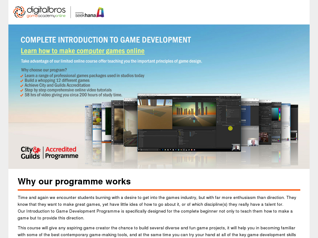 introduction to game development Introduction to game development, second edition edited by steve rabin publisher and general manager, course technology ptr: stacy l hiquet associate director of.