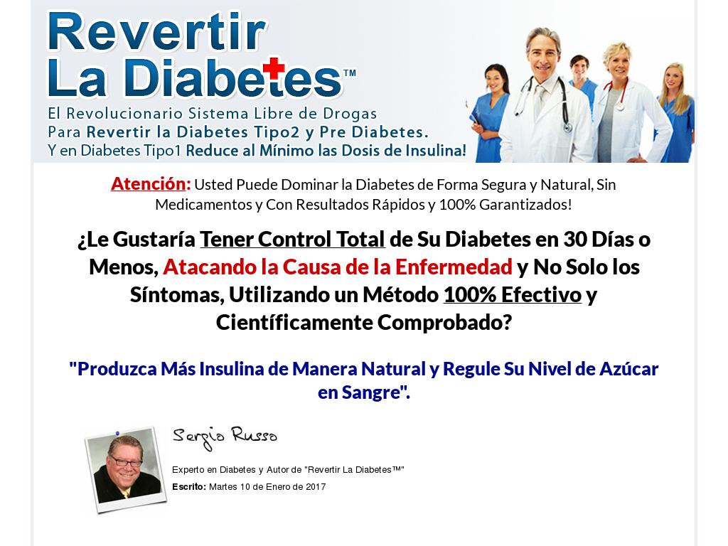 Revertir La Diabetes Tipo 2 Y Pre-diabetes, Controle