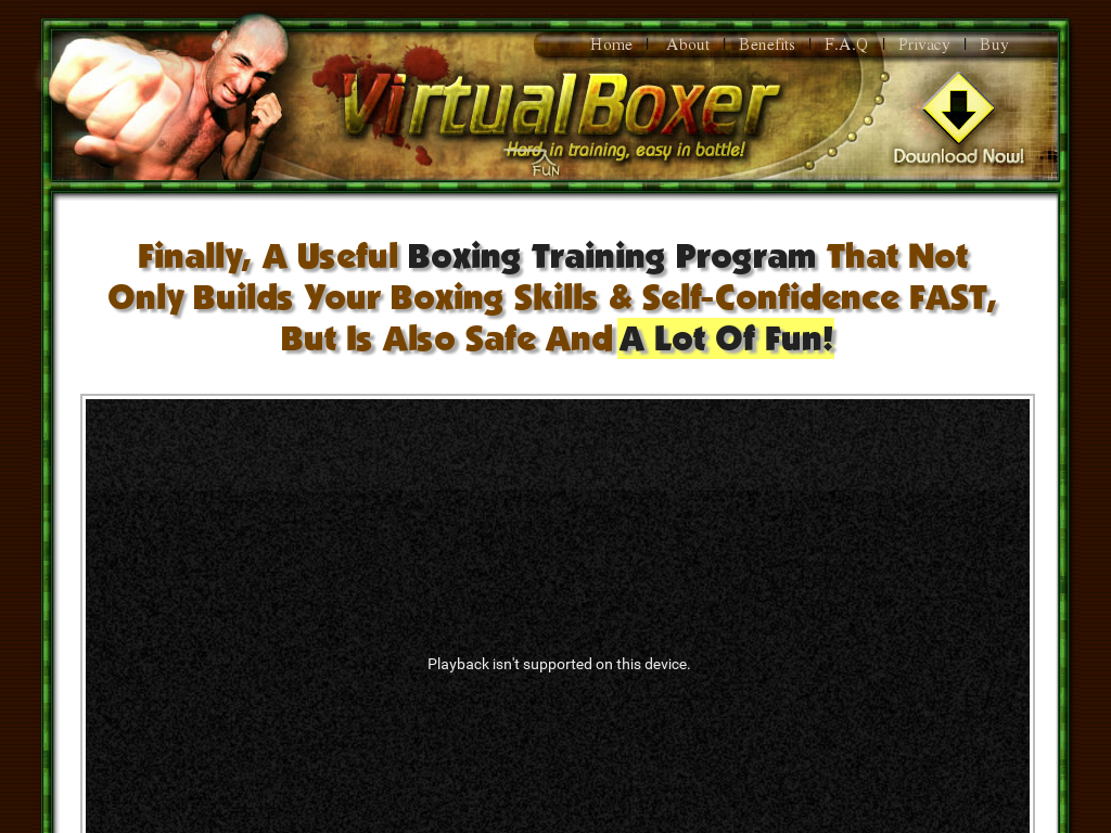 Virtual Boxer - A Super Effective 3-speed Boxing Training