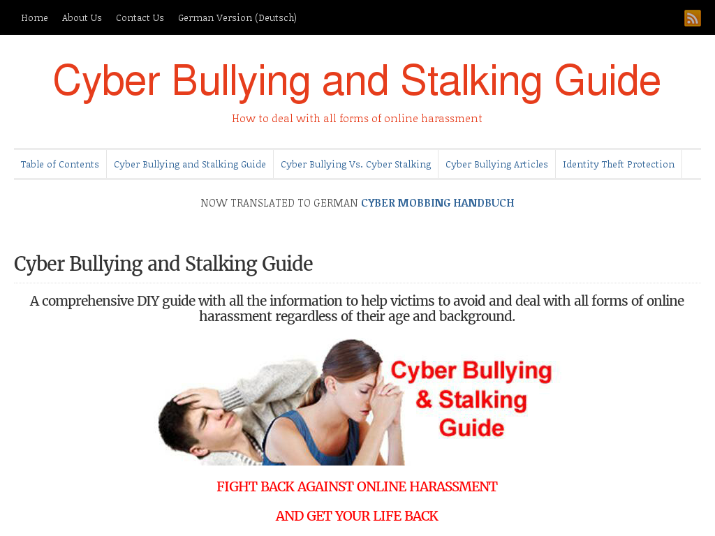 an analysis of the topic of the age of cyber stalking