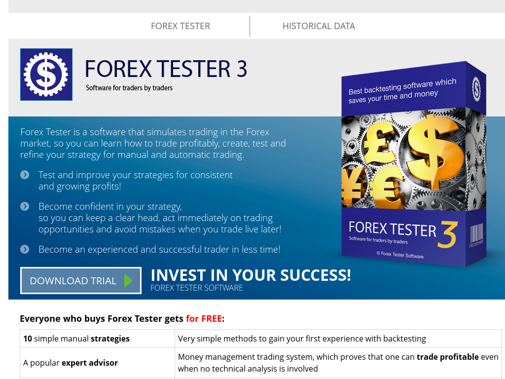 Forex free backtesting program