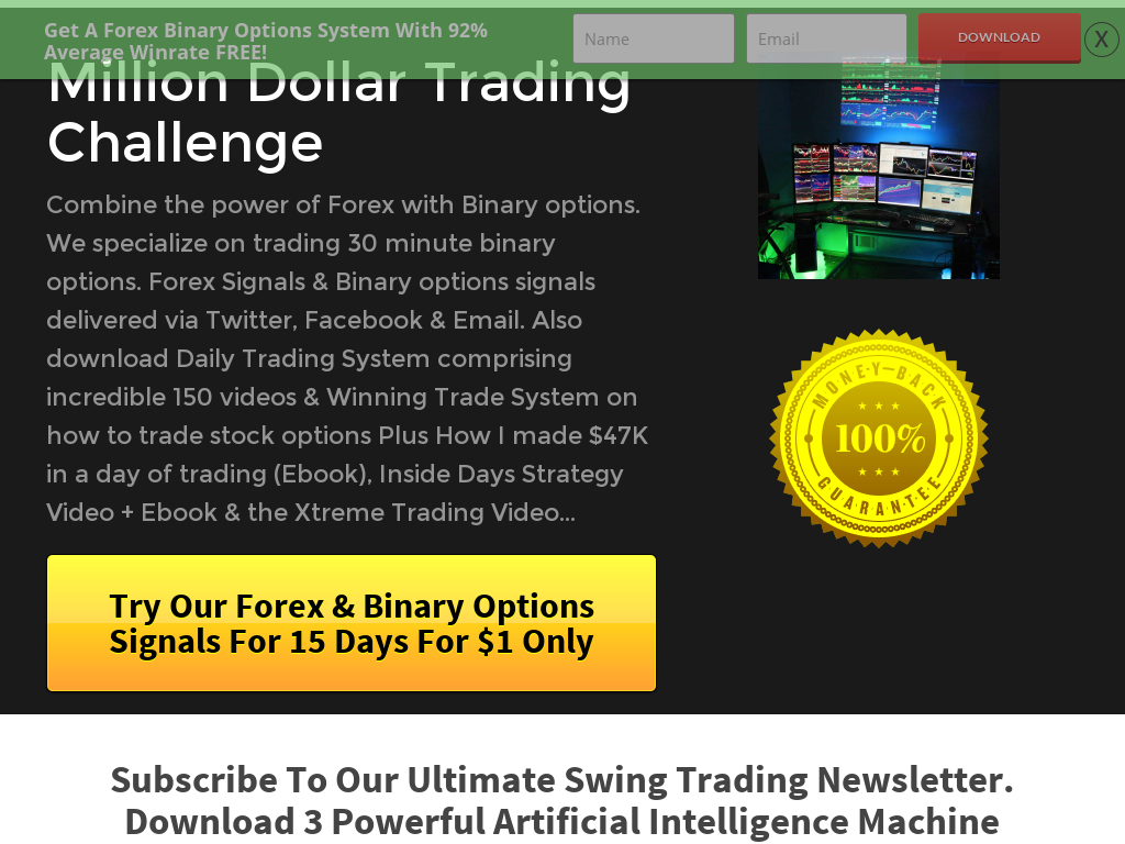 41 million options trading