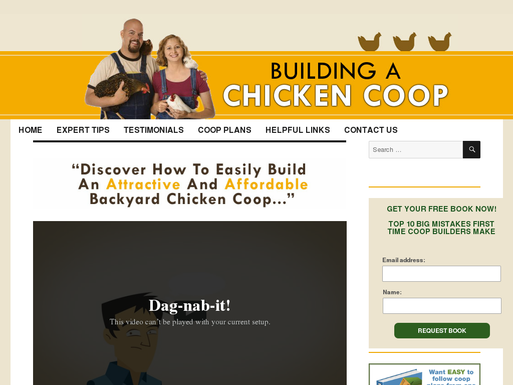 how to build a 40 chicken coop