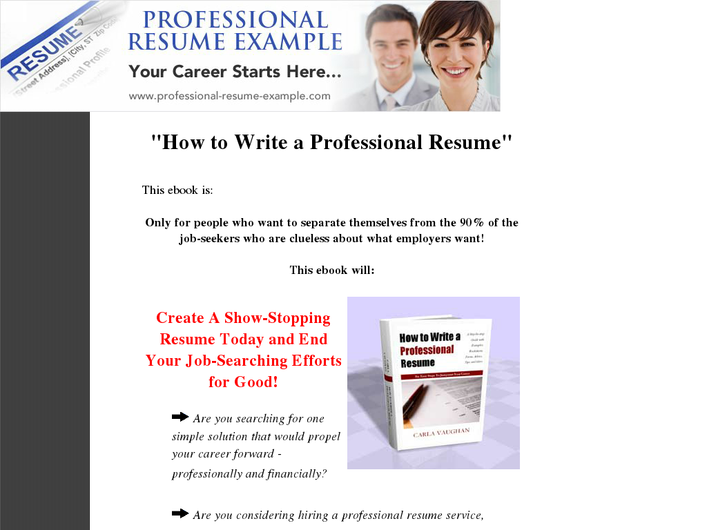 my professional resume My professional resume - mi resume profesional 101 likes this page has been designed to help people with their professional resume, cover letter and.