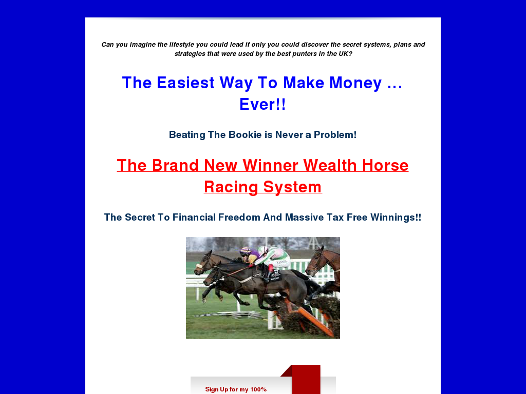The Lucky 15 Horse Racing System
