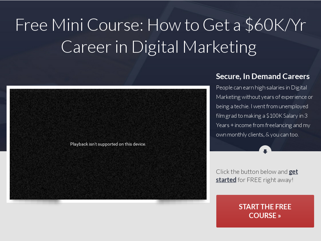 Comments get a 60k career in a year digital marketing career product summary malvernweather Images