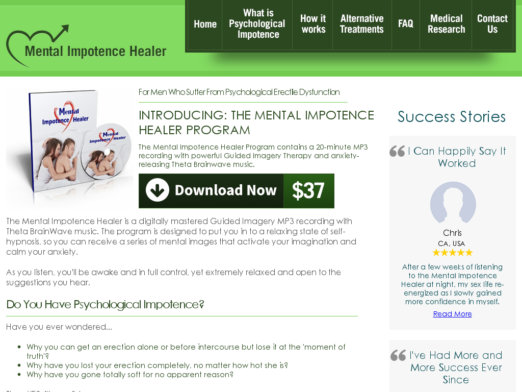 mental impotens healer download
