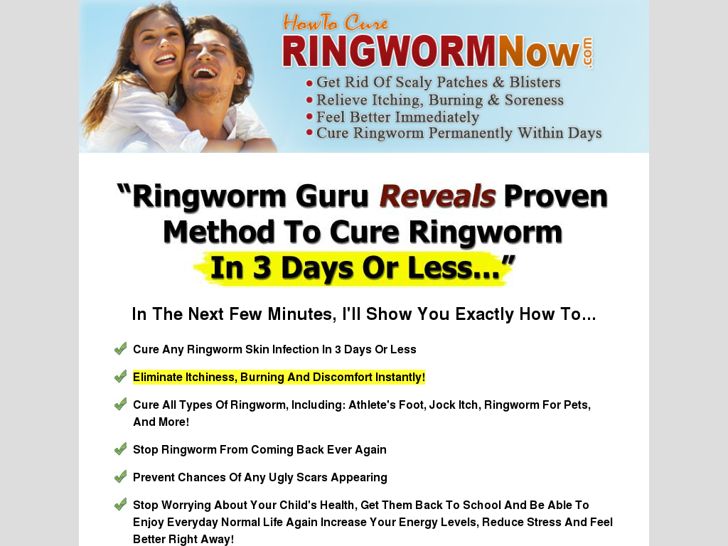 GRAPHS - Fast Ringworm Cure: Incredible Product W/ Amazing Conversions